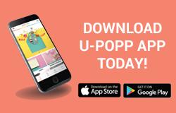 Download U-POPP Mobile App today!