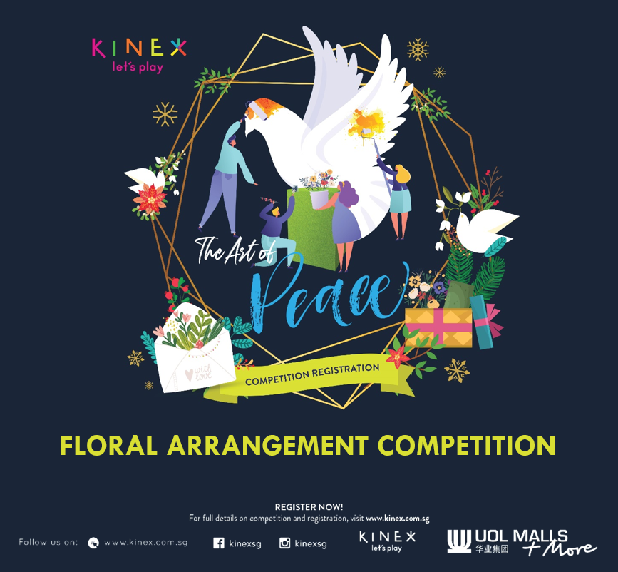 The Art of Peace at KINEX - Floral Arrangement Competition