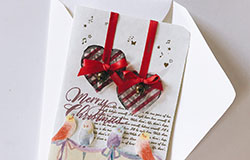 CHRISTMAS WORKSHOP - CUSTOMISED GIFT CARDS