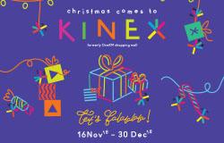 CHRISTMAS COMES TO KINEX, LET'S FALALALALA!